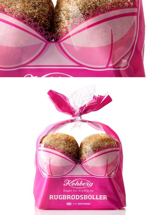 Fighting breast cancer with bread!