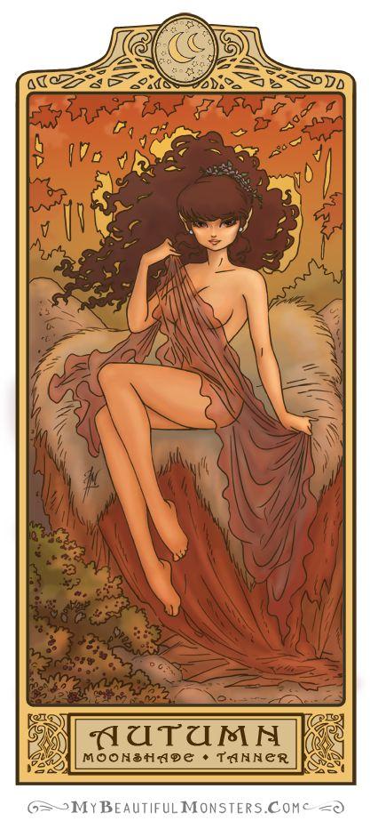 Moonshade - Autumn: Art Nouveau ElfQuest by MyBeautifulMonsters on DeviantArt