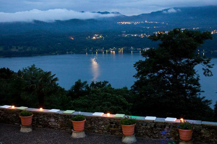 VD - vista del lago di sera