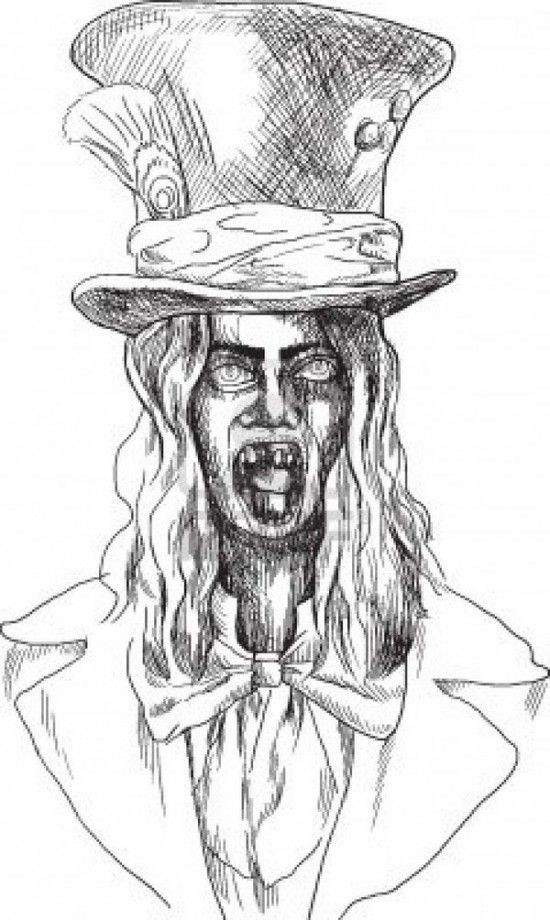 Scary Halloween Coloring Pages Adults : 29 best coloring images on pinterest
