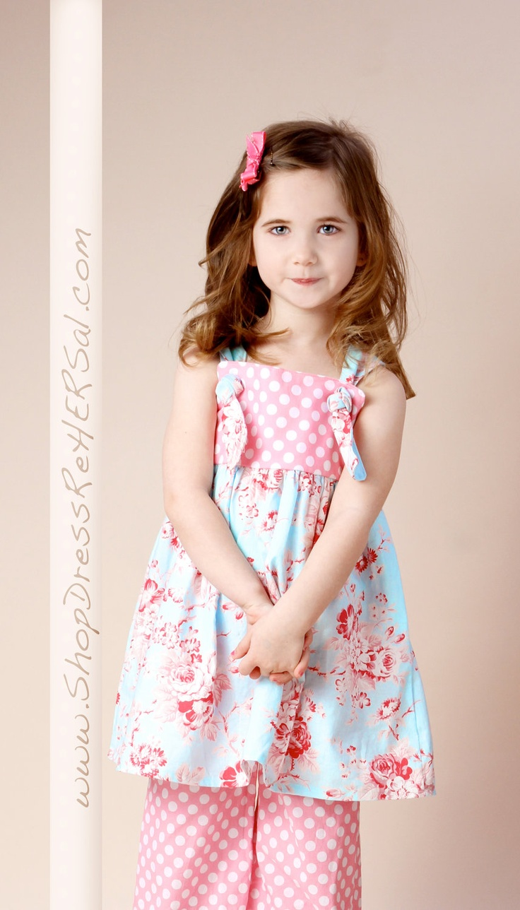 Bella Knot Dress perfect for Easter 12 18 24 2 3 by DressReHERSal, $40.00
