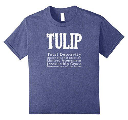 TULIP Calvinism Reformed Christian T-shirt