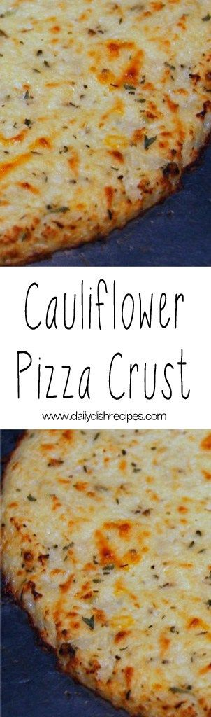 The original Cauliflower Pizza Crust recipe. Soft, delicious, healthy and full of bold flavor - nobody will know it's Cauliflower!