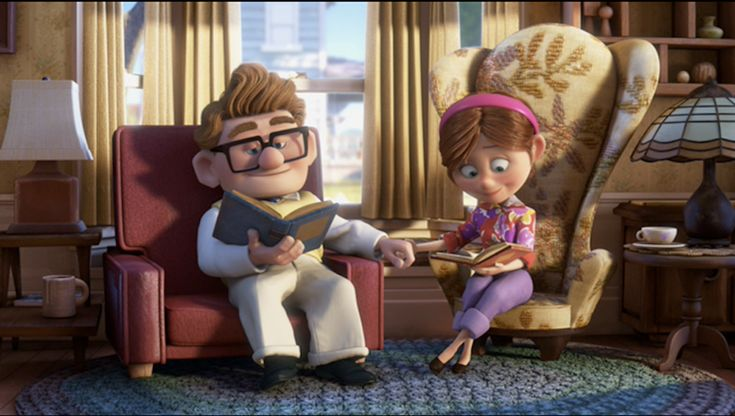 We would elaborate on this, but too many tears would fall. So we'll just say that Carl and Ellie are proof that great love never ages. It's eternal. And precious. And… BRB there is something in our eye.