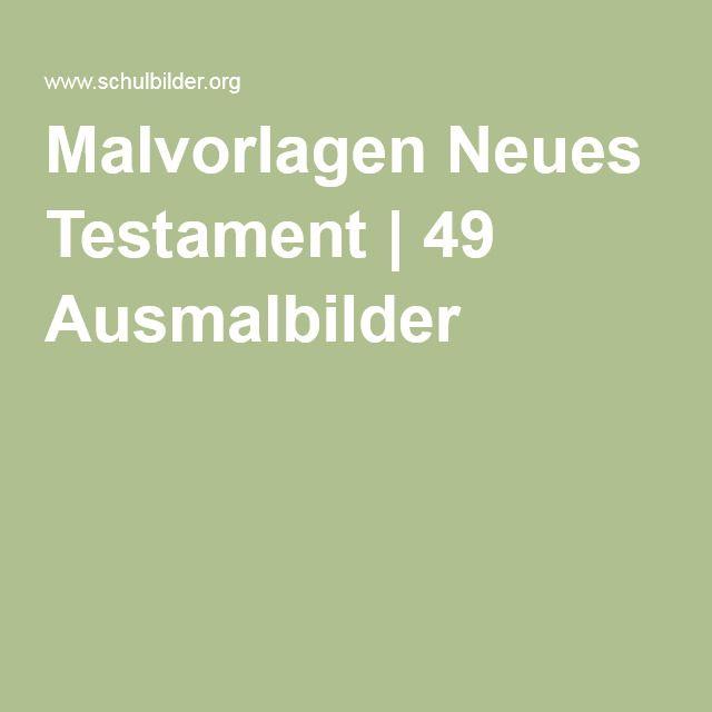 Malvorlagen Neues Testament | 49 Ausmalbilder