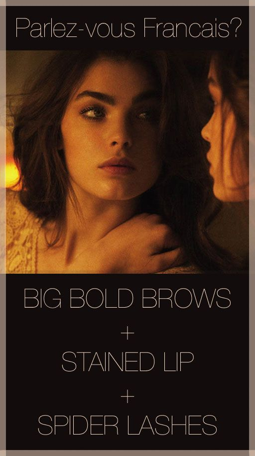 Must try. Always fearful of a super full brow, but this look is so pretty.