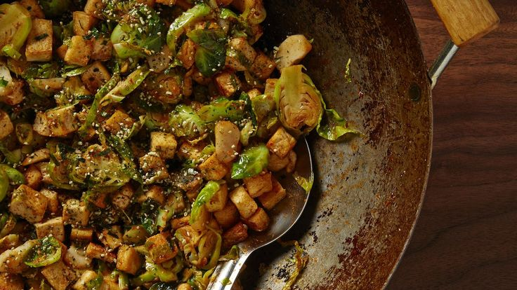 We've always loved the slightly sweet and nutty crunch of water chestnuts, which are actually the bulblike growth of a marsh-grown, grasslike plant. We use it unapologetically in spur-of-the-moment stir-fries. Learn how to make this recipe and more in our <a href=