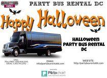 Halloween Party Bus Rental DC   Piktochart Infographic Editor