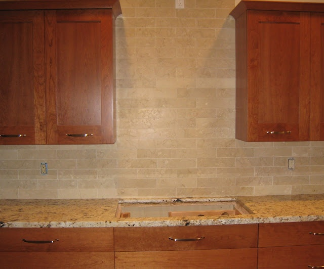 Kitchen Backsplash Ideas With Cherry Cabinets 20 best countertops for cherry cabinets images on pinterest