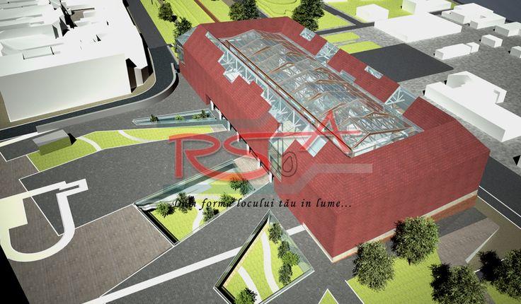 Propunere Muzeu SIBIU | RSbA - Birou de arhitectura | http://rsba.ro