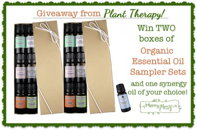 Win 2 Sets of Plant Therapy Organic Essential Oils - Go Natural! Giveaways (Open Worldwide). Giveaway ends April 3, 2013.
