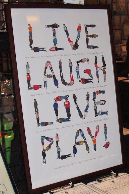 Classroom Auction Ideas : Live laugh love play silent auction idea teacher had