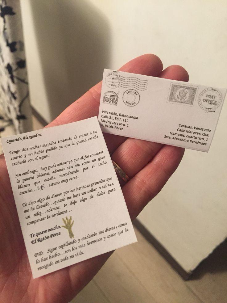 Carta del Ratón Pérez