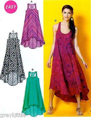 BRAND-NEW-Easy-Miss-Plus-Size-16-26-Dresses-Sewing-Pattern-McCalls-6954
