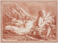 Venus en Cupido. Creator: Boucher, François, François Boucher (Boucher, François; François Boucher) Para: 05/30/1770 + 02: 00 Fecha de nacimiento: 09/29/1703 + 02: 00 Fecha de muerte: 30/05/1770 + 02: 00;Boucher, François (1703 - 1770); graveur; inventor. Date: 1732 - 1785. Type:grafiek. Format:beeld: hoogte: 254 mm; beeld: Anchura: 344 mm; papier: hoogte: 254 mm; papier: Anchura: 344 mm; opzet: Hoogte: 375 mm; opzet: Anchura: 500 mm. Data provider: Teylers Museum. Provider:Digitale…