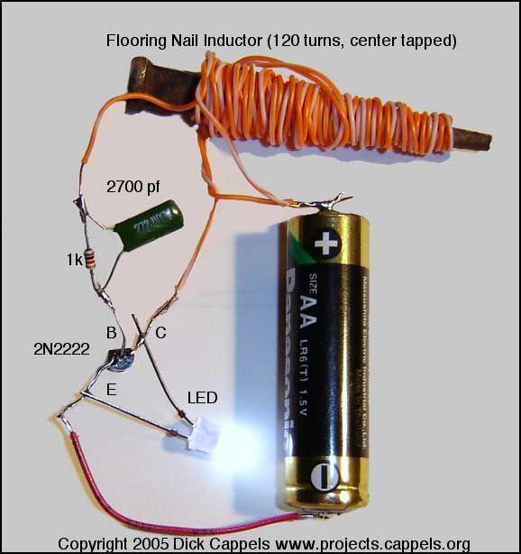 Inductor Circuit Diagram