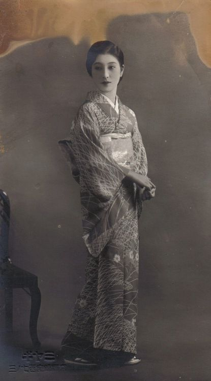 Portrait of a Japanese woman, ca. 1930s.