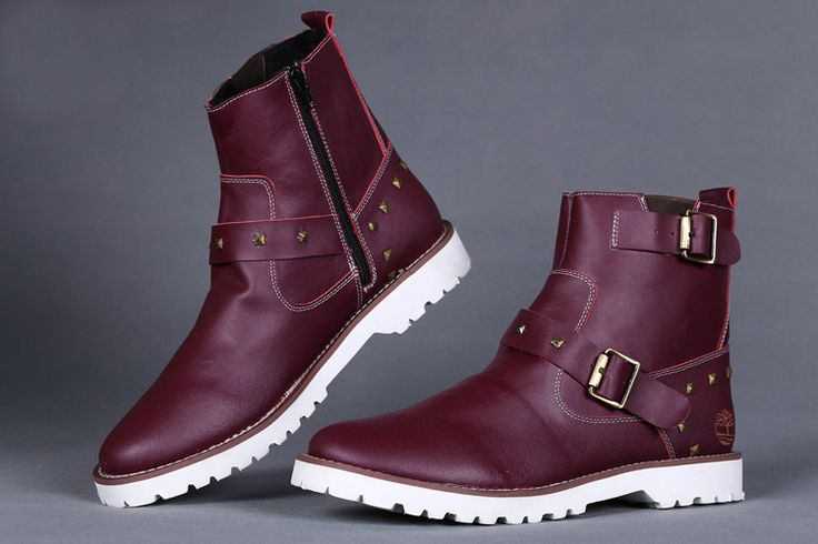 Timberland Men's 6 Inch Premium Pull-On Waterproof Boots - Burgundy,Fashion Timberland Boots,Timberland Boots Outfit,New Timberland Boots 2016
