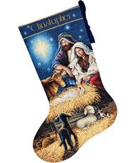 Gold Collection - Holy Night Stocking