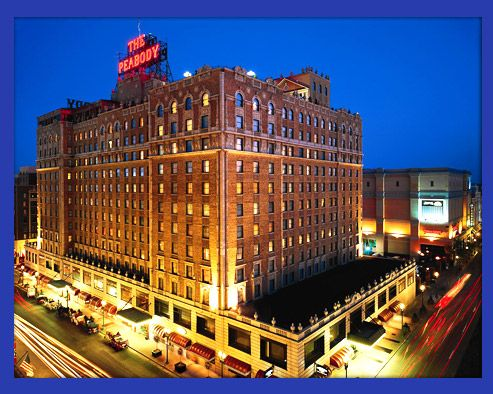 peabody hotel memphis | in 1925 , the beautiful and elegant Peabody is the only Memphis hotel ...