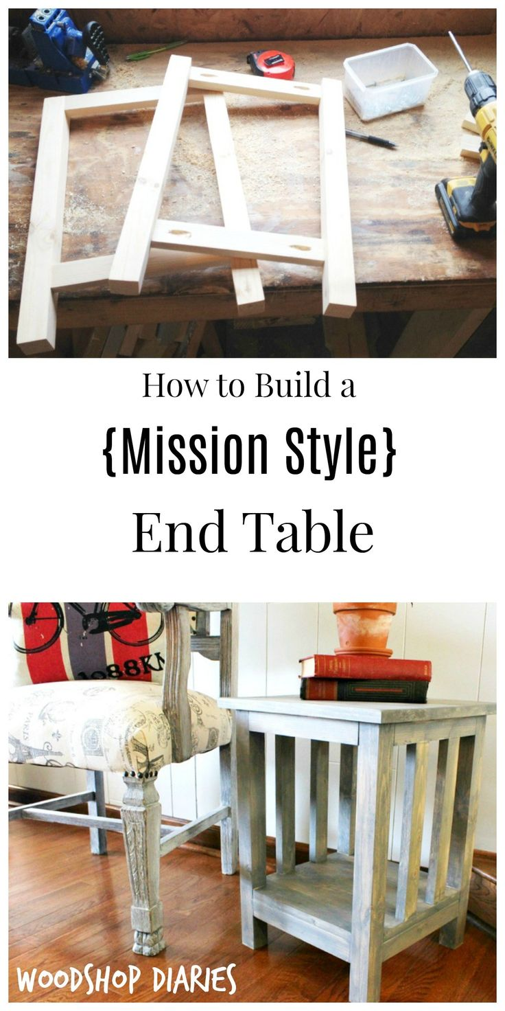 The 25 best mission style end tables ideas on pinterest for Mission style end table plans