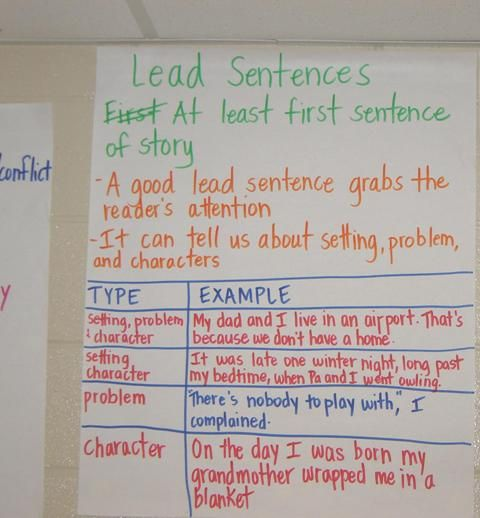 Writing Anchor Charts.  Good examples to use in the classroom.  From Hall County schools.