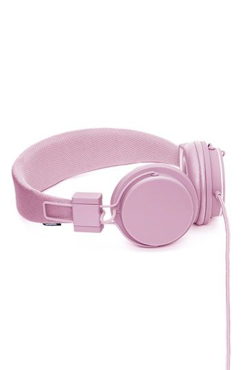 Urbanears headphones.  And they come in a rainbow of colors.