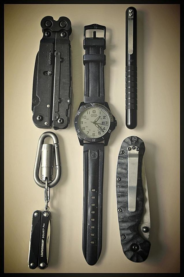 Well paired EDC items.