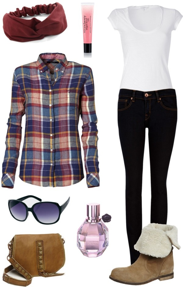 """Must-have: la Camisa a cuadros"" by levana14 on Polyvore"
