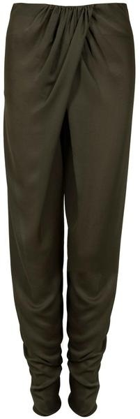 Wrap Front Trousers - Lyst. I think I could replicate a pair of these with an extra large pair of trousers.