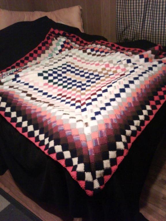 Crocheting Quilts : crochet quilt Crochet Pinterest