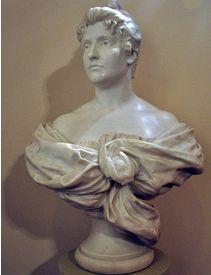 This marble bust of Dame Nellie Melba by Australian sculptor Bertram Mackennal,  adorns the Royal Opera House London.