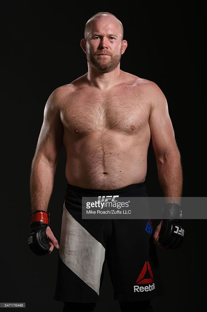 Tim Boetsch poses for a post fight portrait backstage during the UFC Fight Night event on July 13, 2016 at Denny Sanford Premier Center in Sioux Falls, South Dakota.