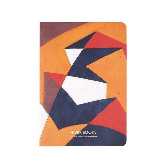 """ilustrowany zeszyt w miękkiej oprawie inspirowany Obrazem """"Forme Rumore"""" Giacomo Balla. Czyste kremowe kartki  Rozmiar S -72 strony papier: 90 g/m2 Rozmiar L - 128 stron papier: 100 g/m2 Wymiar: 147 x 210 mm..."""