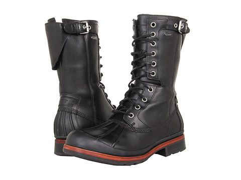 Outlet At Discount Womens Boots UGG Collection Cosima Nero Leather Sheepskin