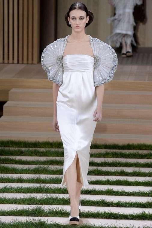 Vestiti da sposa Haute Couture Primavera-Estate 2016 - Abito con bolero Chanel