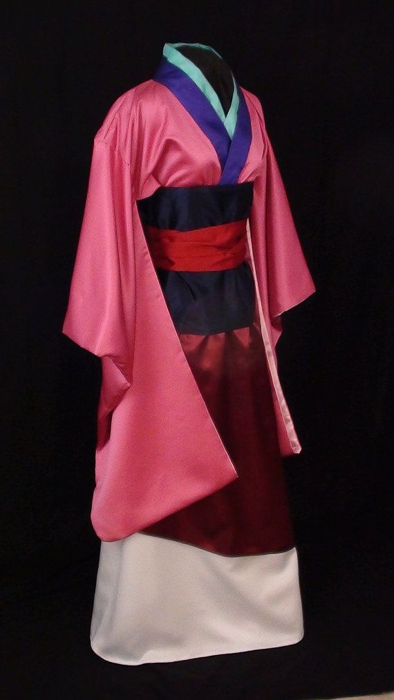 I would wear the SH** outta a Adult Mulan costume!