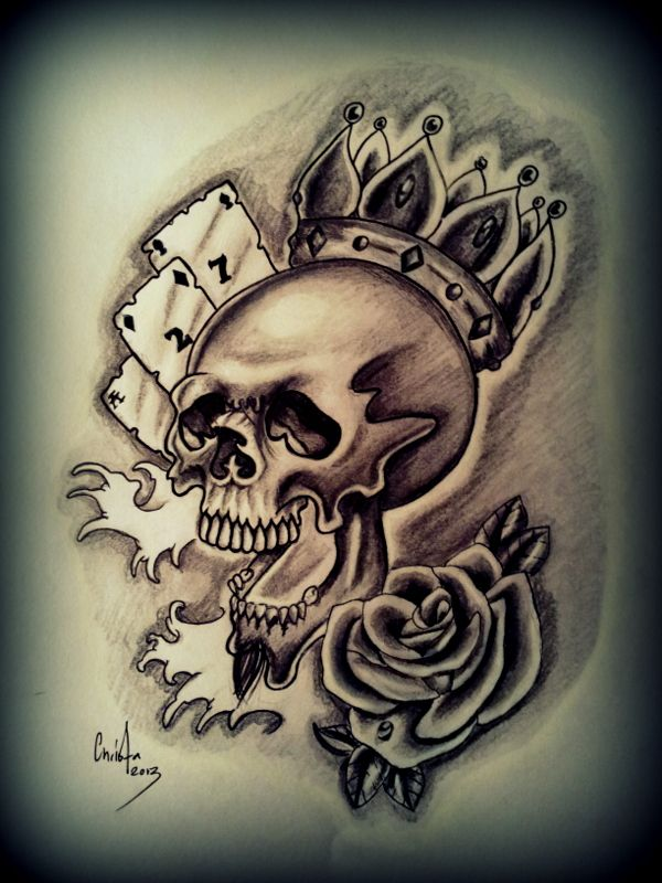 42 best images about ink art on pinterest crown tattoos for Celtic skull tattoo