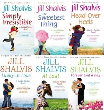 "Jill Shalvis "" A lucky Harbor series"""