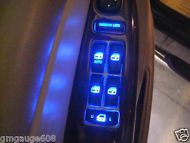 2003 04 05 06 Silverado Sierra Tahoe Trailblazer Escalade Door Switch LED's Blue