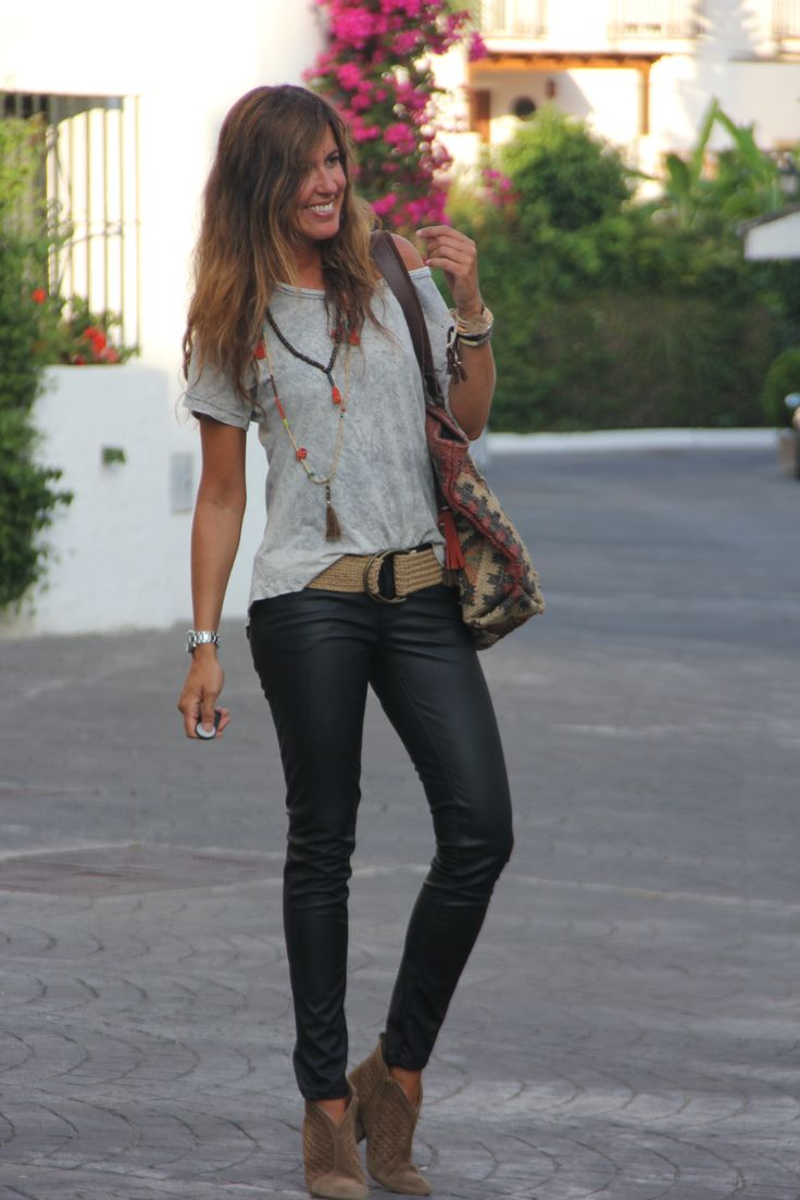 my new leather pants | mytenida en stylelovely.com