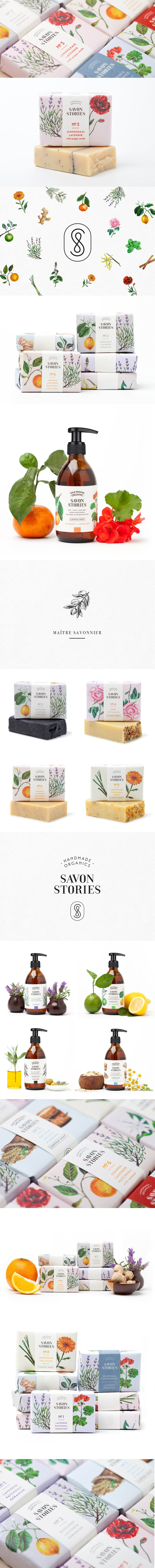 Savon Stories Packaging Design