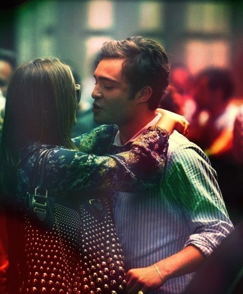 Chuck and Blair.. the perfect couple. This makes my heart sad that there I no more gossip girl