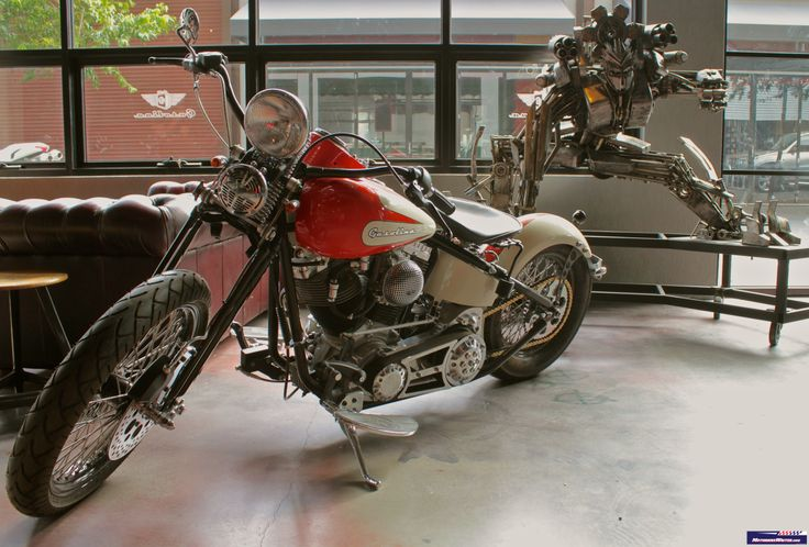 Carl Cerra's Gasolina Motorcycles and restaurant, South Wharf, Melbourne http://motorbikewriter.com/gasolina-stars-in-harley-learner-bike-reveal/