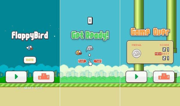 Flappy Bird game for iOS and Android is pointless and annoying, yet quite addictive www.flappybirds.co.uk