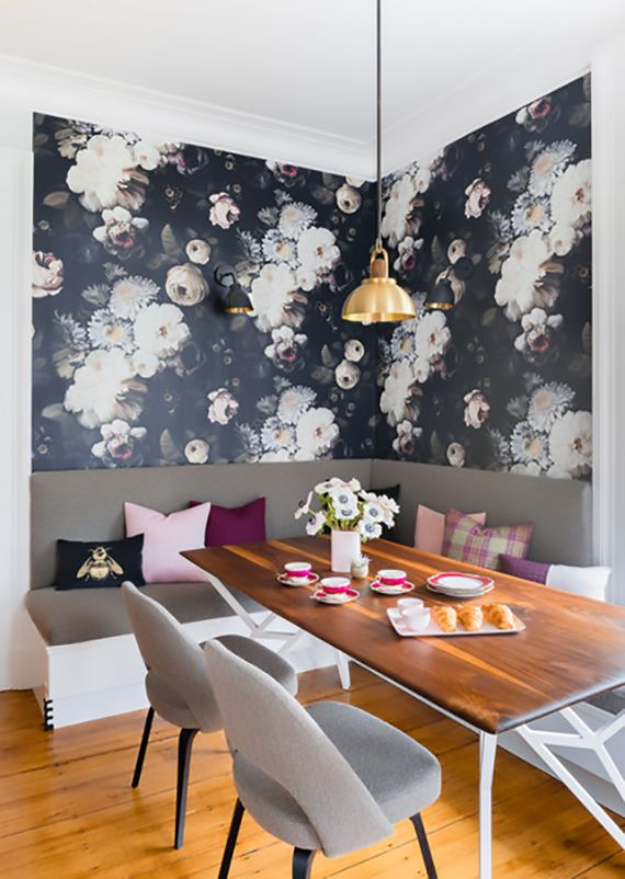 Effektvolle Wand Und Raumgestaltung Mit Fototapete Iris