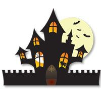 Haunted House printable