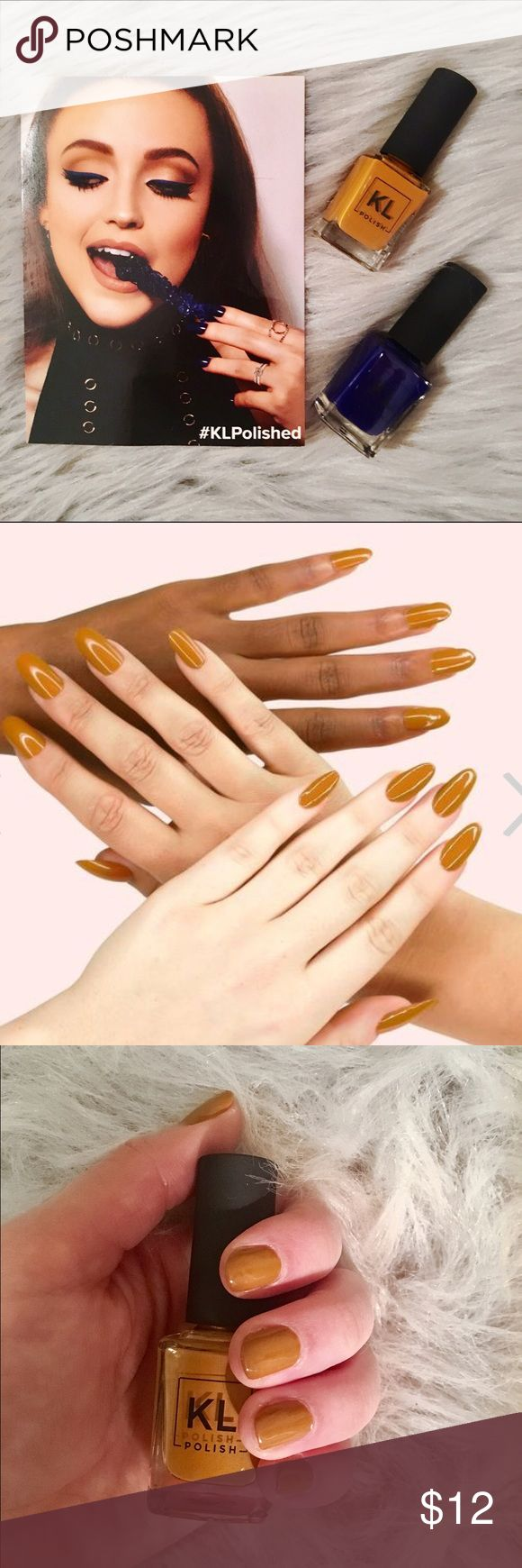 KL polish - Caramello This mustard-pumpkin shade is perfect for fall and winter!  Creme finish. Vegan. 5-free. SOLD OUT!! KL polish Other
