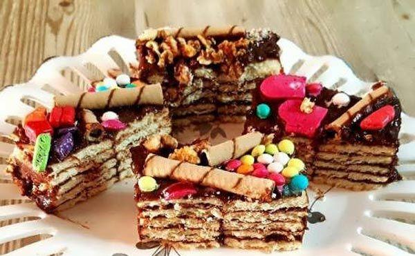 طرز تهیه کیک یخچالی با بیسکویت پتی بور با دو دستور متفاوت Food Desserts Breakfast