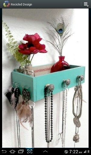 Drawer on the wall